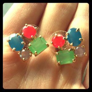Kate Spade 4 stone Earrings